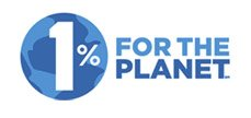 1% For The Planet - Giving Back to environmental causes.