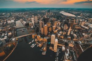 Skyline of Boston, Cambridge web design agency SEO Consulting