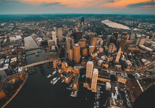 Skyline of Boston, Cambridge web design agency SEO Consulting